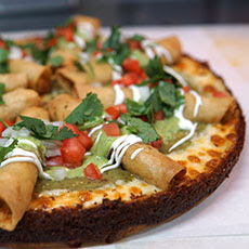 Taquito Pizza