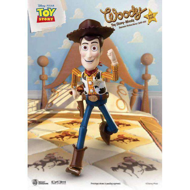 Image of Toy Story Dynamic 8ction Heroes DAH-016 Woody PX Previews Exclusive - AUGUST 2019