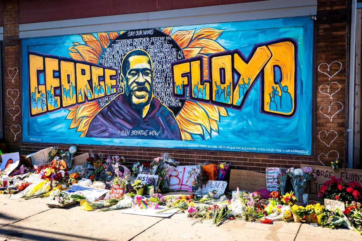 A memorial to George Floyd in Minneapolis, Minnesota. (Image: munshots/Unsplash)