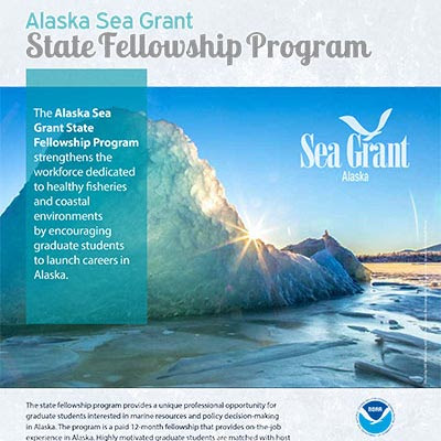 Alaska State Fellowship Program poster detail