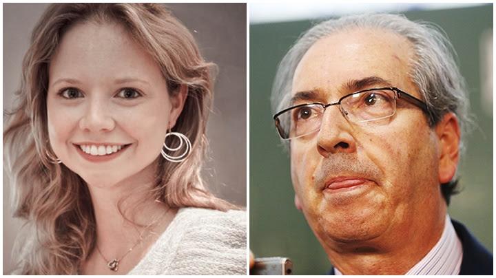 Eduardo Cunha Danielle Dytz filha