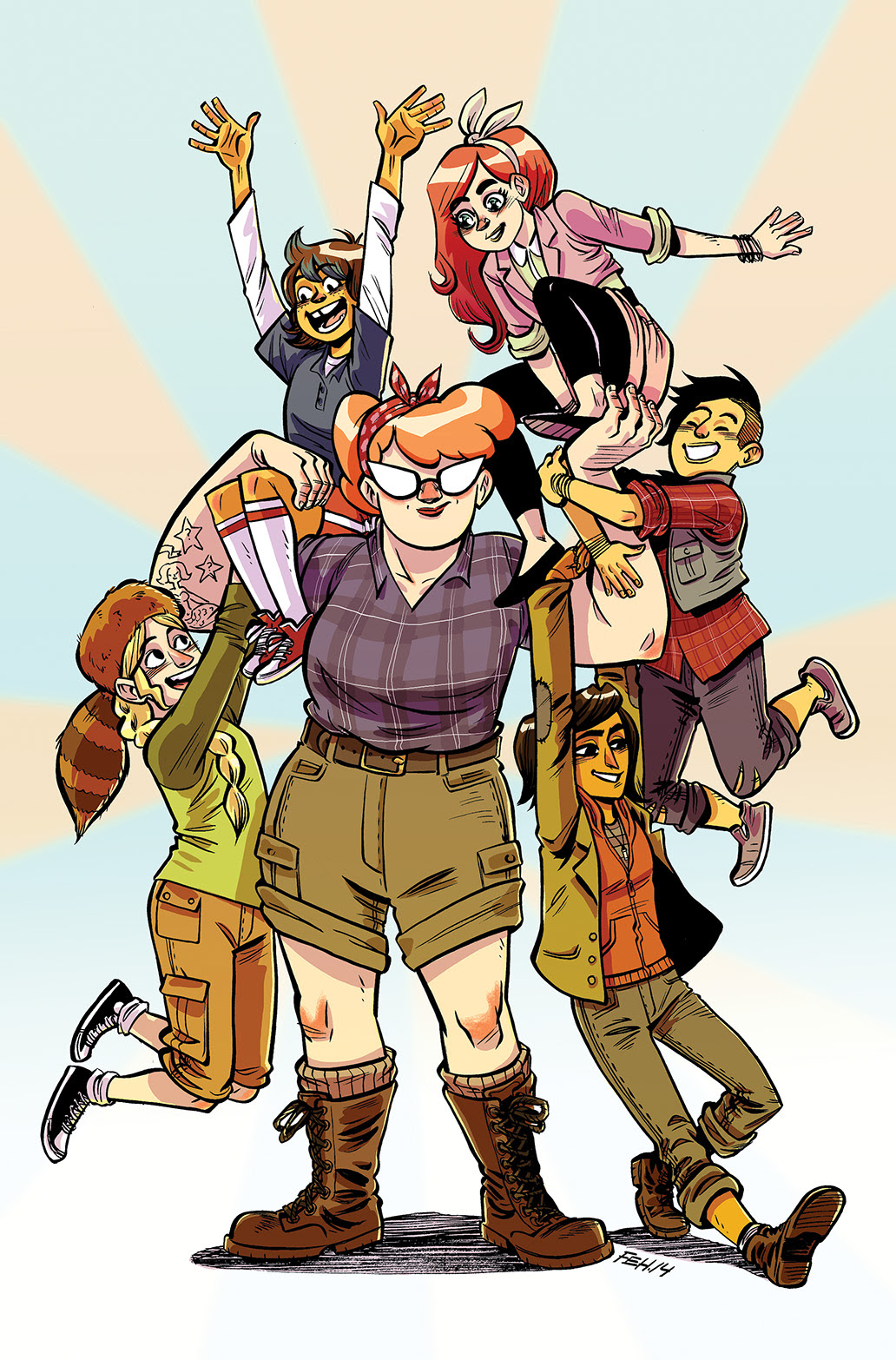 LUMBERJANES #3 Cover B by Faith Erin Hicks