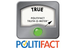 Politifact Truth-O-Meter points to true