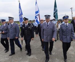 Policja polska chroni żydów