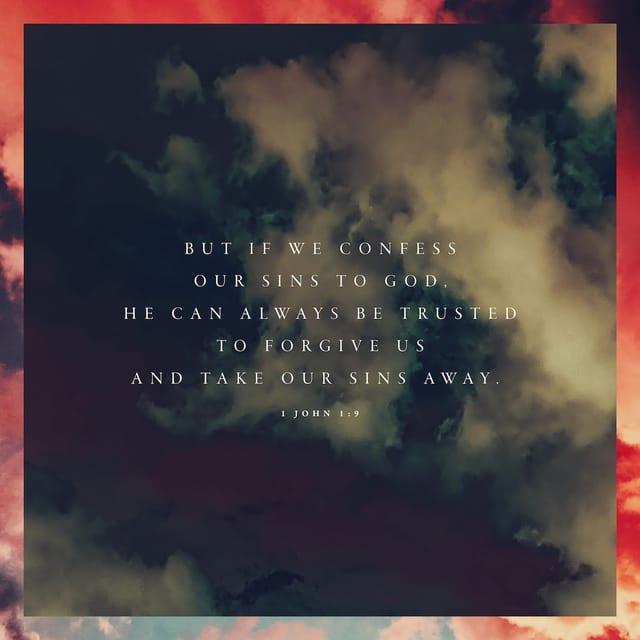1 John 1:9 CEV