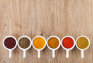 Spice cups