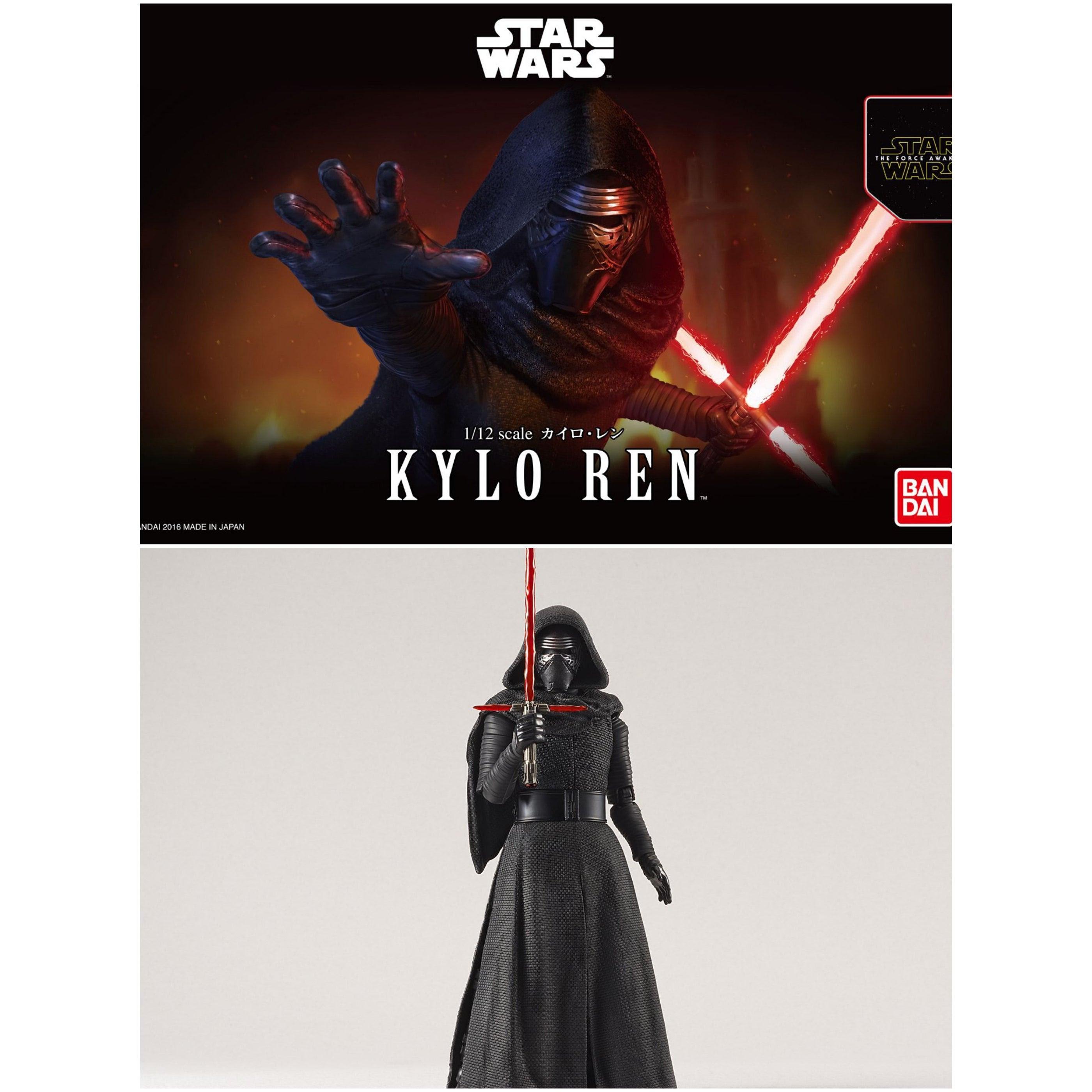 Image of Star Wars Kylo Ren 1/12 Scale Model