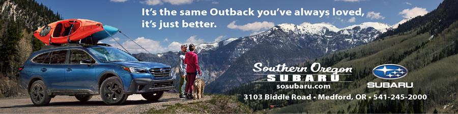 Sponsor: Southern Oregon Subaru