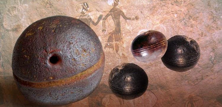 Las esferas de Klerksdorp . 2800 millones de años