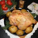 Курица с картофелем Все гениальное-просто!