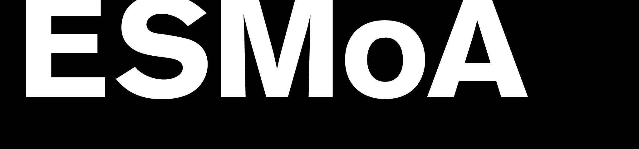ESMoA and Wende Museum logo | Invitation graphic