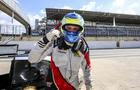 Piloto Alex Seid marcou sua primeira vitória em Interlagos pela Sprint Race (Luciano Santos/SiGCom)