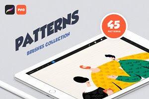 Procreate Patterns: Brushes Set