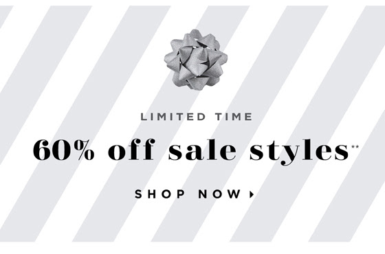 60% OFF SALE STYLES
