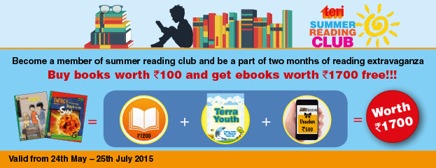 TERI Summer Reading Club - Special offer from TERI