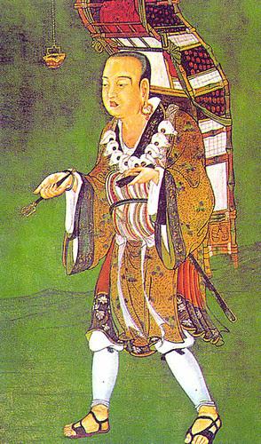 Xuanzang (Hsuan-tsang) - Chinese Buddhist Monk. Photo from Epic Word History