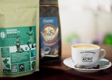 Caficultores de Pichanaqui producen café que conquista la Bundesliga