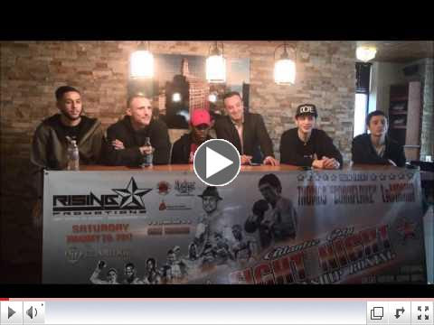 Rising Promotions Press Conference