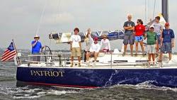 AYC Junior Offshore sailing team
