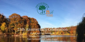Friends of Van Cortlandt Park's 25th Anniversary Celebration: Honoring Our Founders