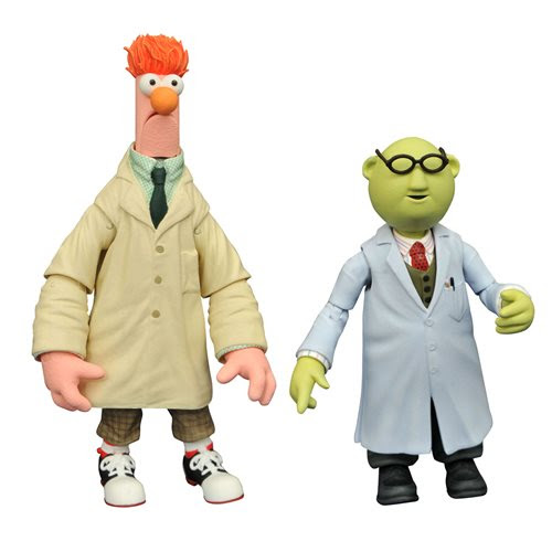 Image of Muppets Best Of Series 2 Bunson & Beaker Action Figure - JANUARY 2021