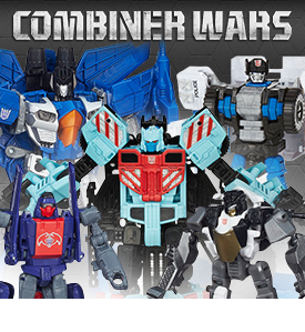 NEW HASBRO TRANSFORMERS COMBINER WARS!