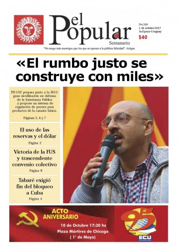 La UJC homenajea a Miguel Mato a 32 años de su secuestro y desaparición