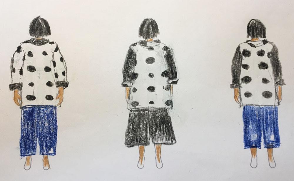 Oversized Kimono Jacket - by Jenny Gordy, back view - MyBodyModel - CSews
