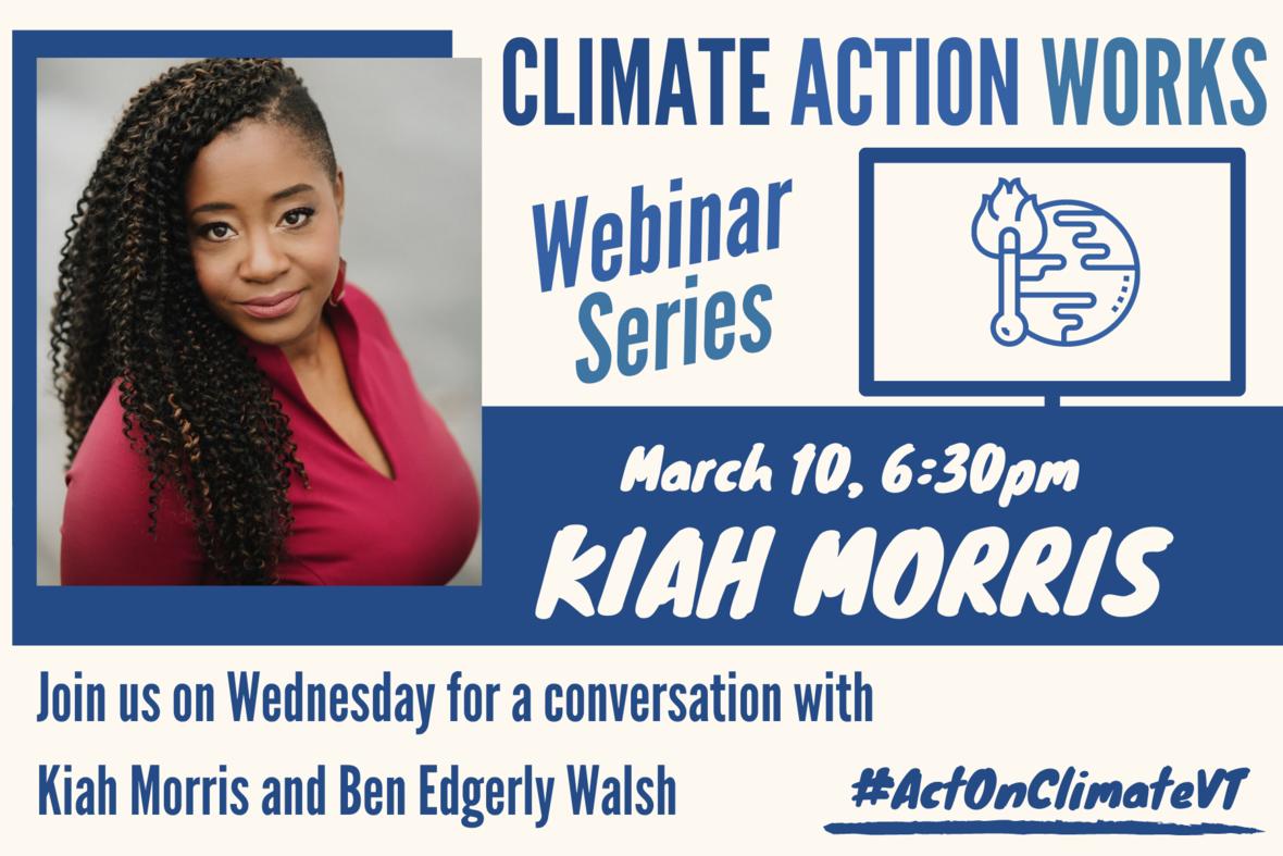 2021 3 10 Climate Action Webinar Kiah