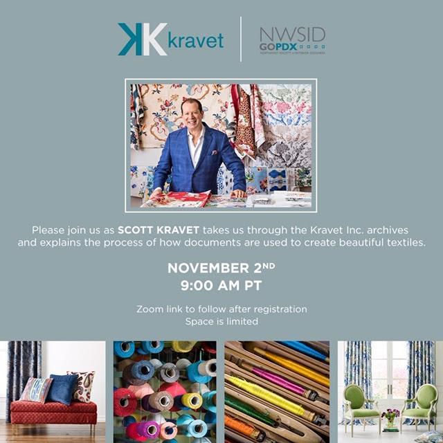 NWSIDgoPDX: Kravet Event Hosted by Scott Kravet