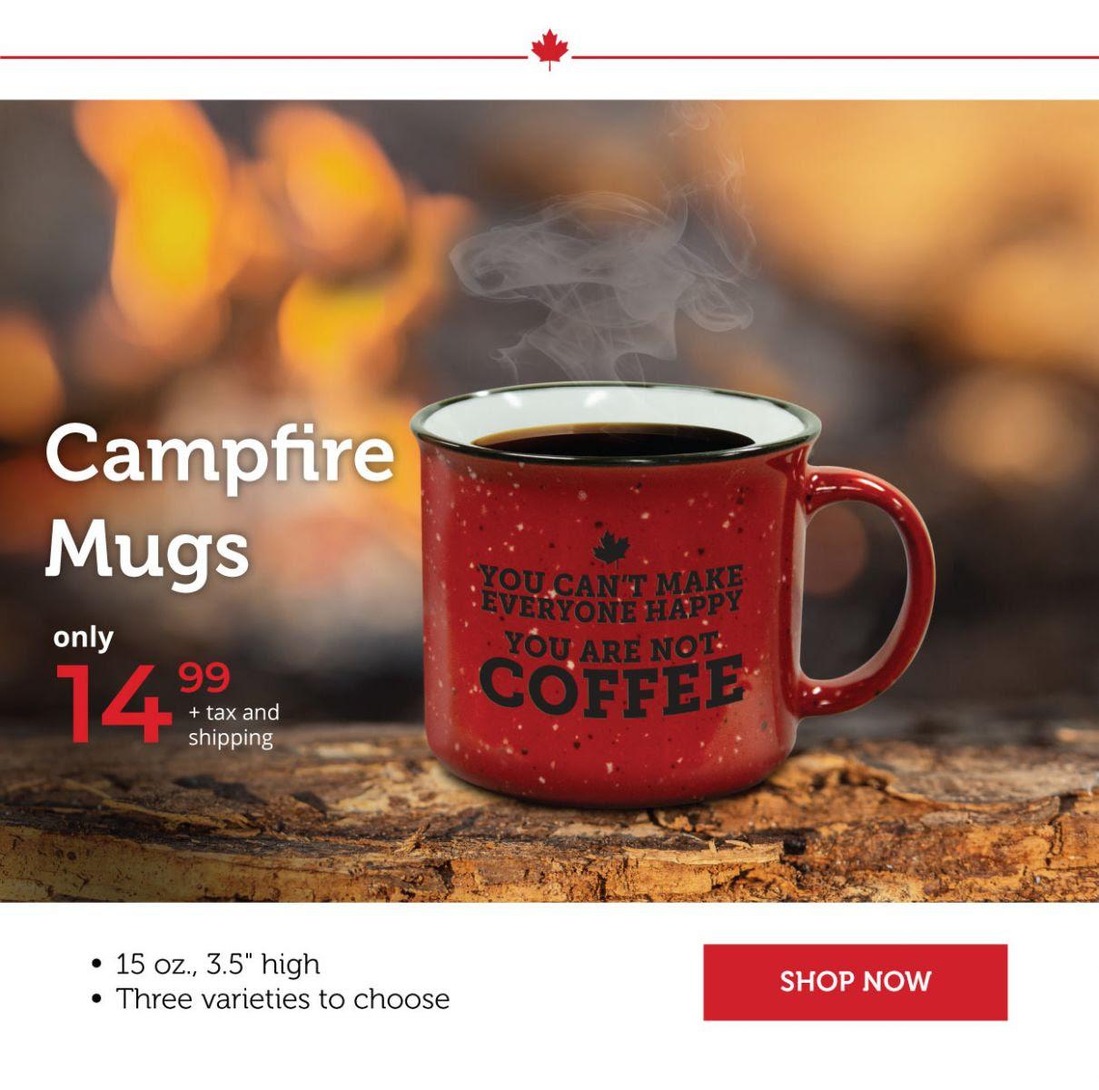 Campfire mugs!
