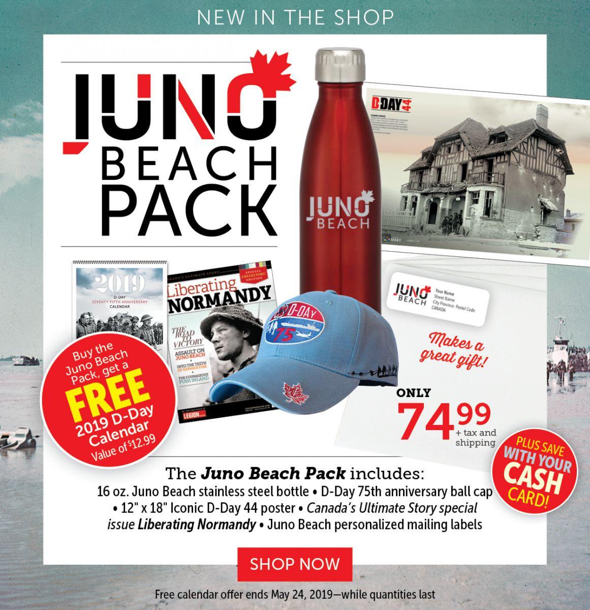 Juno Beach Pack!