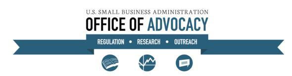 Graphic Header for the SBA's Office of Advocacy