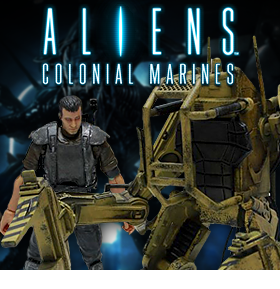 ALIENS COLONIAL MARINES FIGURES