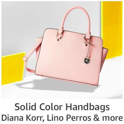 Solid Color Handbags