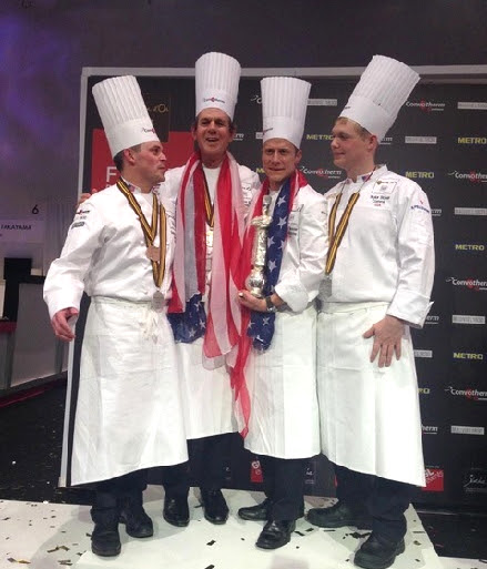 Team USA makes history at the Bocuse d'Or 2015