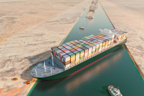 Google Sneaks In Suez Canal Easter Egg After Ship Finally Gets Unblocked -  DesignTAXI.com