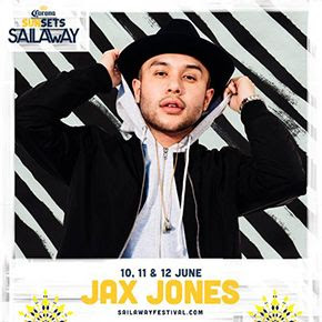 Jax_Jones_290 Sail Away Festival, festival en el mar desde Barcelona