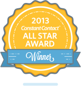 2012 Constant Contact(R) ALL STAR AWARD WINNER