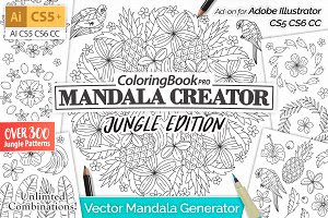 Mandala Creator Jungle Edition