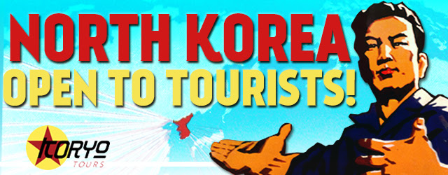 North Korea open to Tourists Man