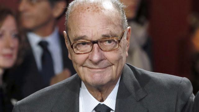 """Chirac: França e o mundo recordam """"um grande homem de Estado"""""""