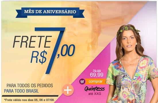 Mês de Aniversário Frete R$ 7,00 | Campeões de Vendas