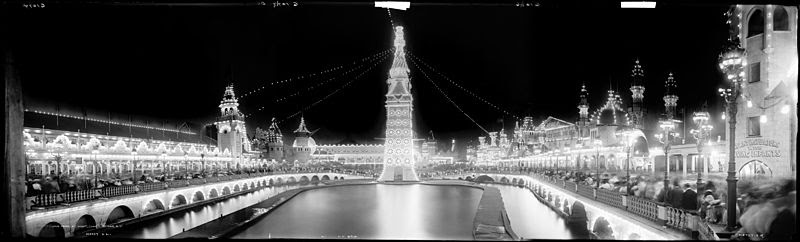 File:Luna Park at night, Coney Island, New York (LOC det.4a06541‒3).jpg