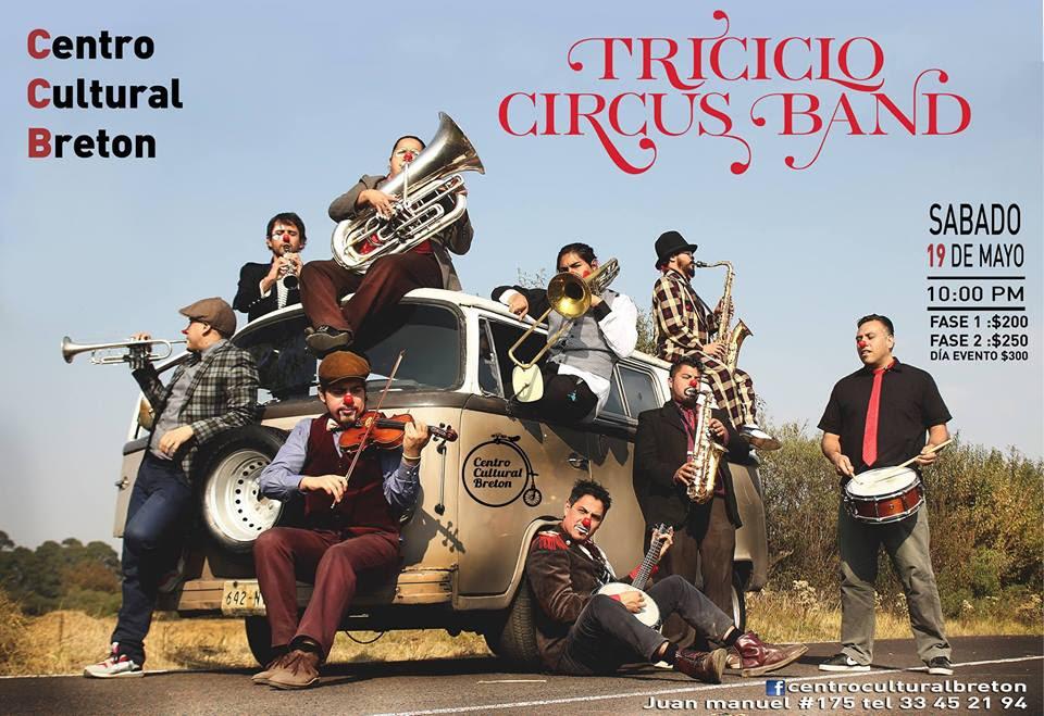 Triciclo Circus Band / Centro Cultural Breton