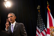 President Obama spoke about the Affordable Care Act last Thursday at Miami Dade College in Miami.