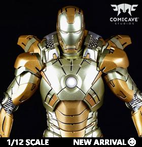Iron Man 3 Die-Cast Iron Man Mark XXI Midas 1/12 Scale Figure