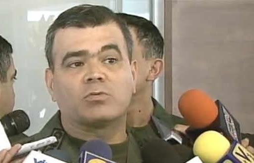 El General Vladimir Padrino, Comandante del CEO