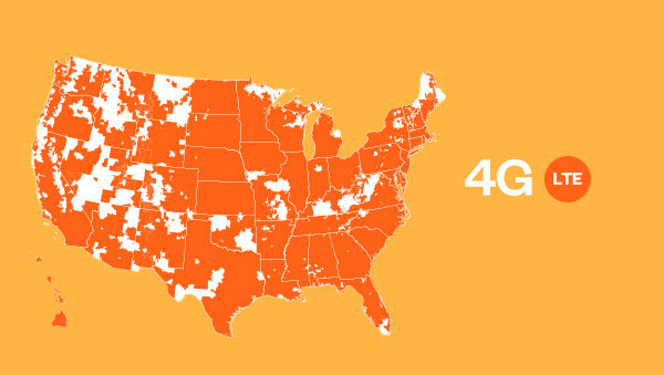 The Nation's Largest 4G LTE Network