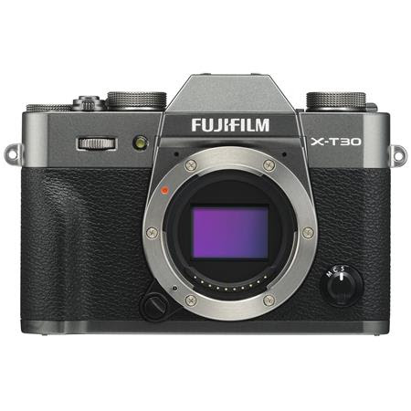 X-T30 Mirrorless Digital Camera (Body Only), Charcoal Silver